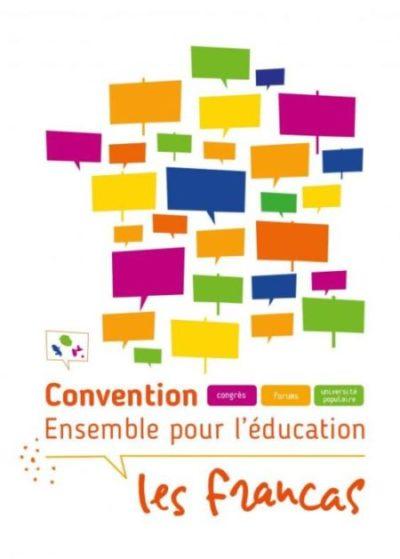 La Convention Francas «Ensemble pour l'éducation» du 20 au 23 Décembre 2019 à Dijon